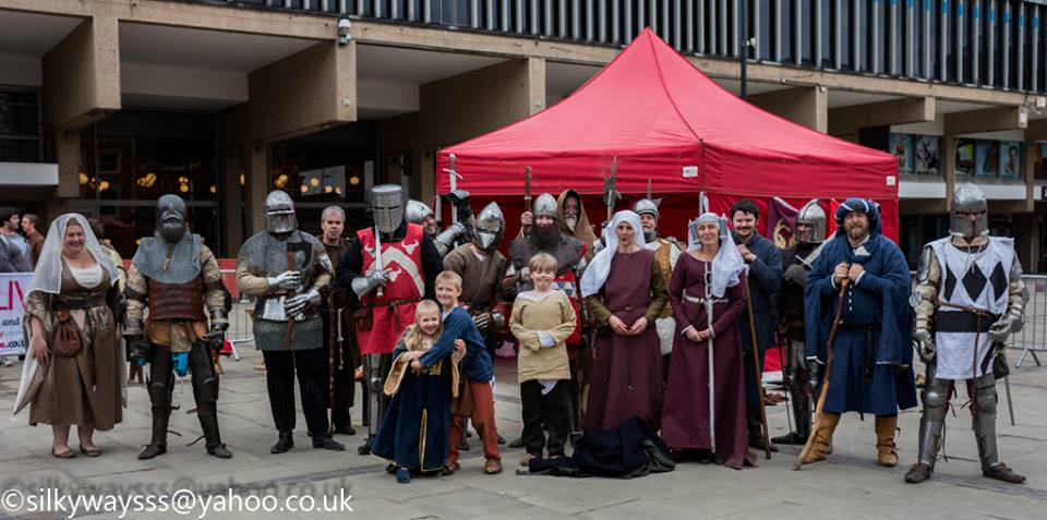 Team Falchion at Derby Live St George's Day 2016